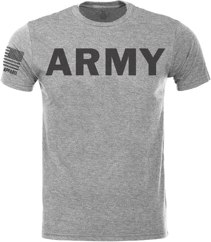 Army SoftStyle T-Shirt W/ Flag