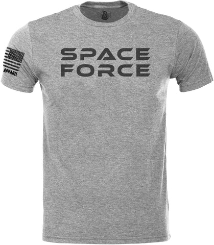 SPACE FORCE SoftStyle T-Shirt W/ Flag
