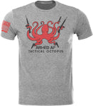 Tactical Octopus Tactical Armed AF SoftStyle T-Shirt W/ Flag