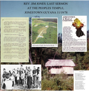 Rev. Jim Jones* ‎– Last Sermon At The Peoples Temple, Jonestown Guyana 11/18/78