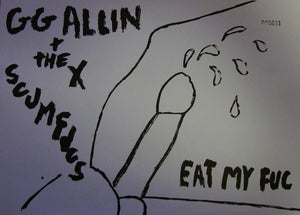 "GG Allin $ The Scumfucks- Eat My Fuk -12""lp"