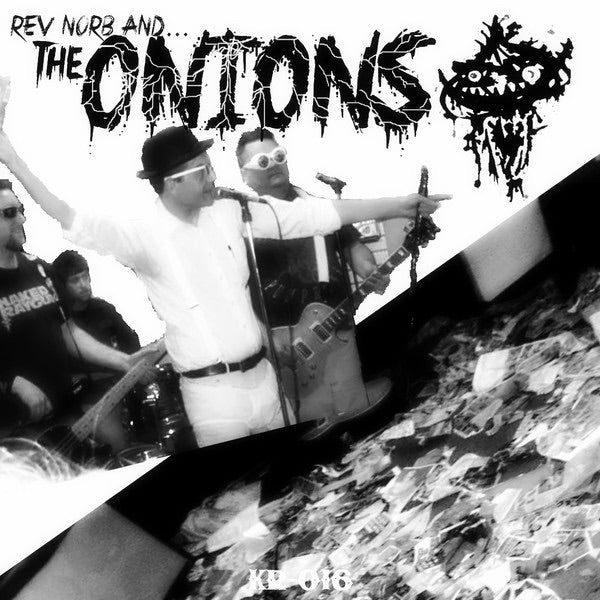 Rev. Norb and the Onions/ Last Sons of Krypton - split- lp