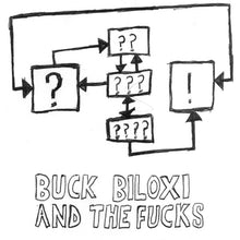 "Buck Biloxi And The Fucks - s/t - 7"" secret identity records"