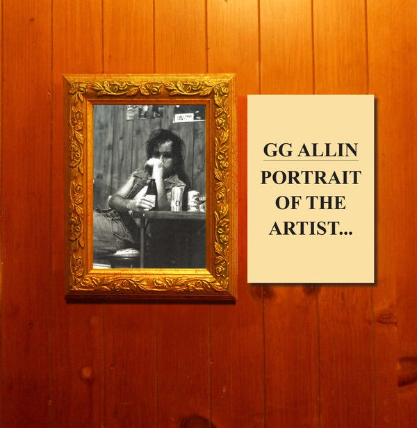 G.G.Allin - Portrait of....- 12lp tpos/trash american style records