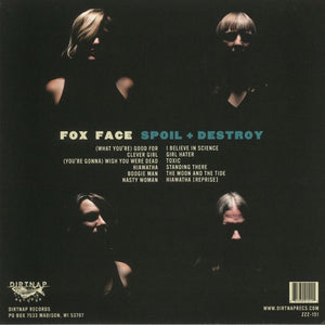 "Fox Face - Spoil + Destroy - 12"" lp dirtnap records"