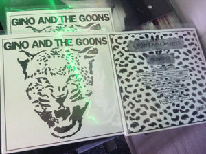 "Gino and The Goons -7"" certified pr records"