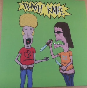 "Trash Knife - Trash Life - 7""ep Secret Identity Records"