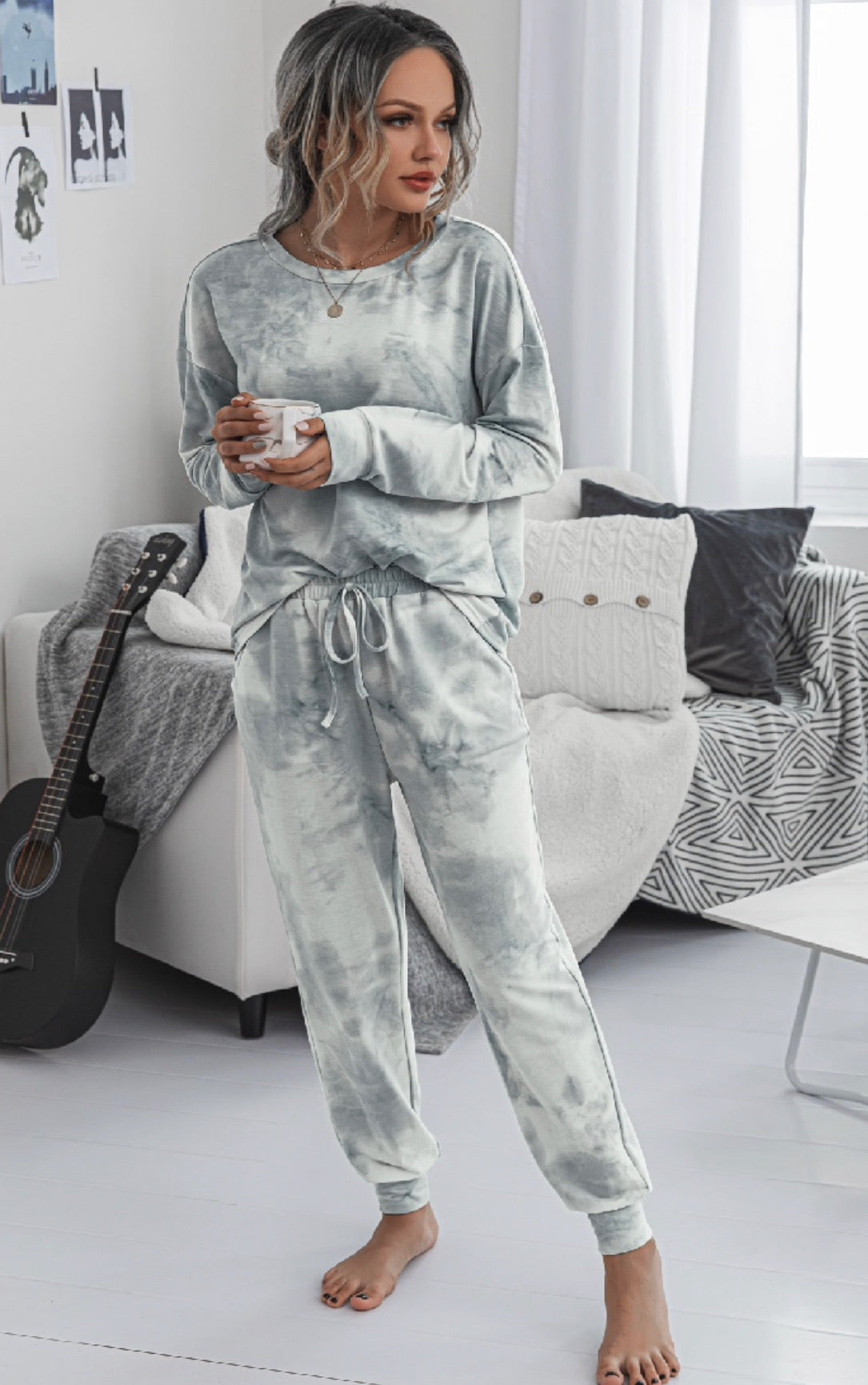 Tie Dye Pajama Sets ** 2 Colors!