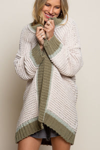 Super Soft Chenille Cardigan ** 2 COLORS