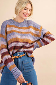 Casual Classic Stripe Sweater