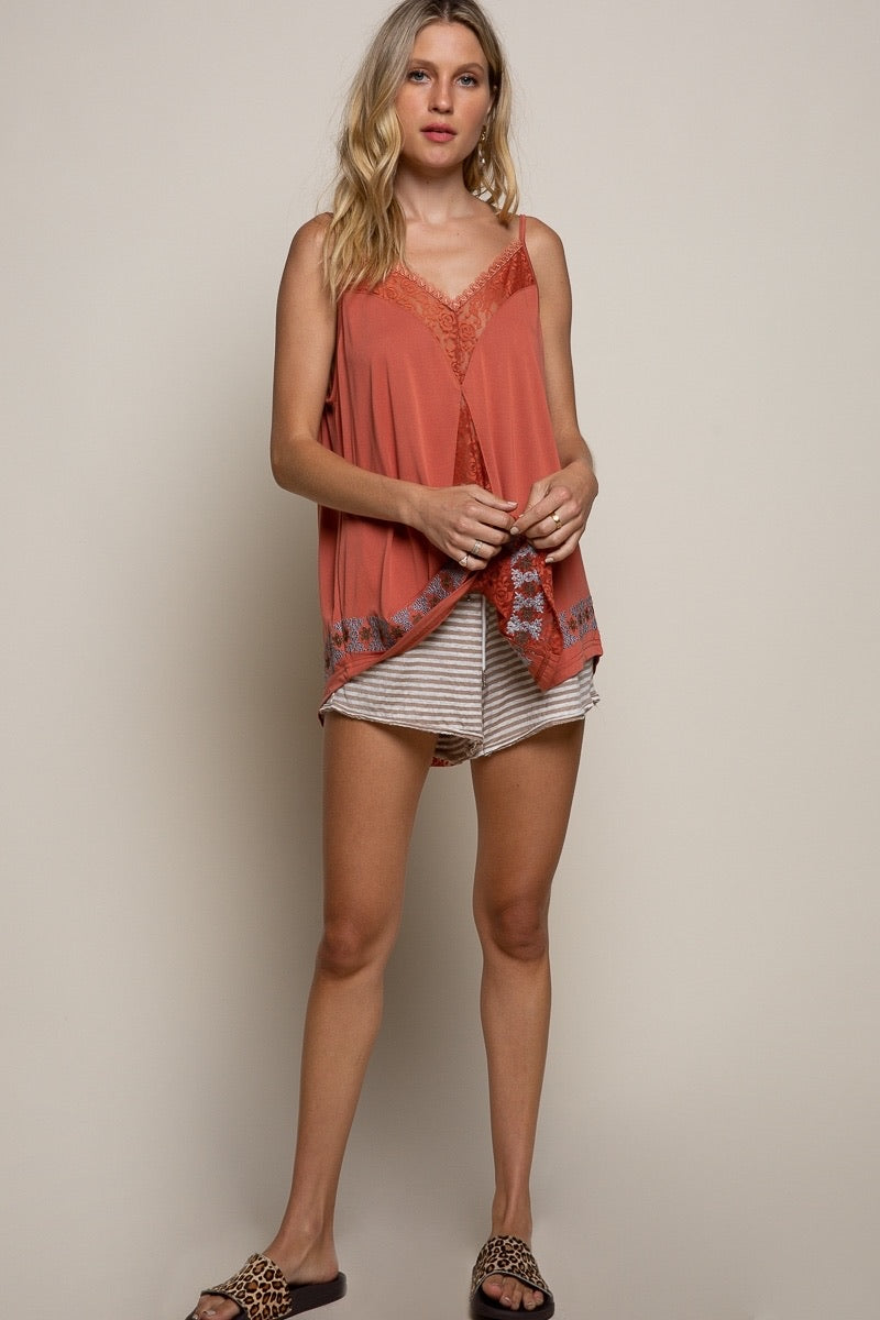 Sienna Lace Tank