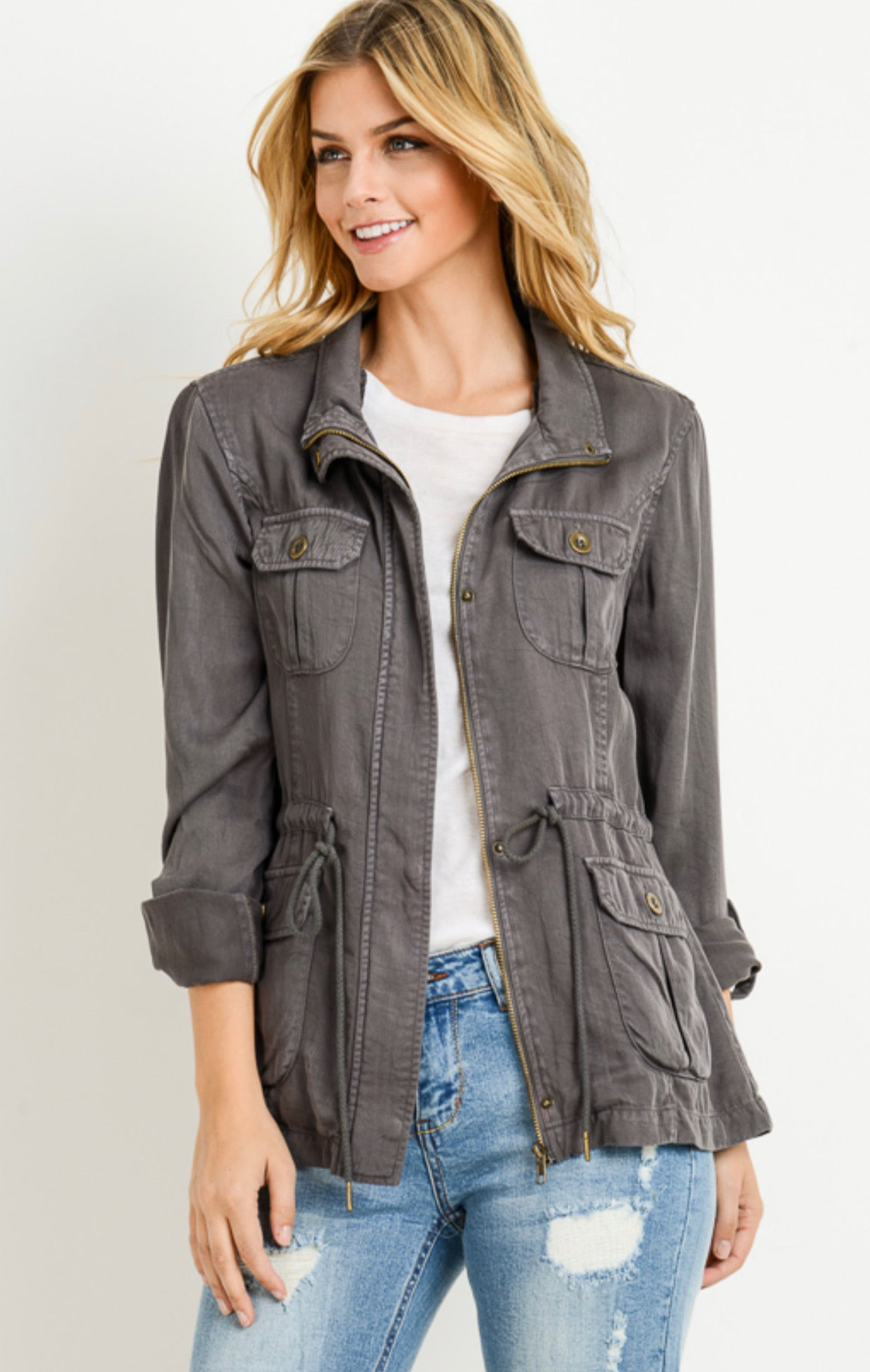 Cargo Jackets ** Two Colors, S-3X