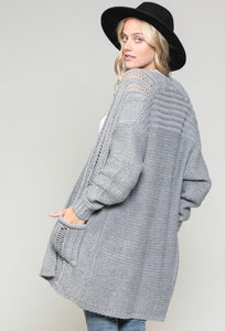 Classic Knit Cardi ** TWO COLORS