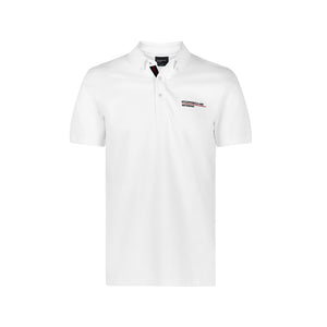 Porsche Motorsport Polo Shirt White