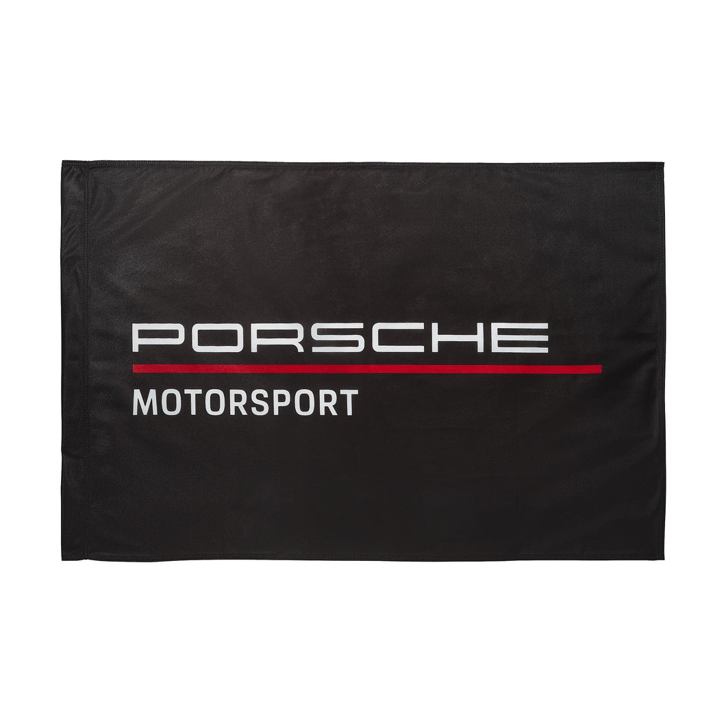 Porsche Motorsport Team Flag Black