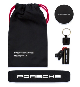 Porsche Motorsport Women's Team Polo Black