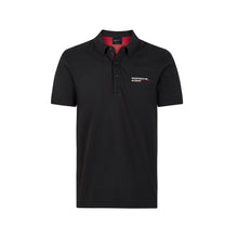 Load image into Gallery viewer, Porsche Motorsport Polo Shirt Black