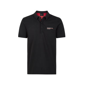 Porsche Motorsport Polo Shirt Black