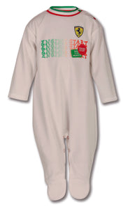 Ferrari Infant Shield Pajama White