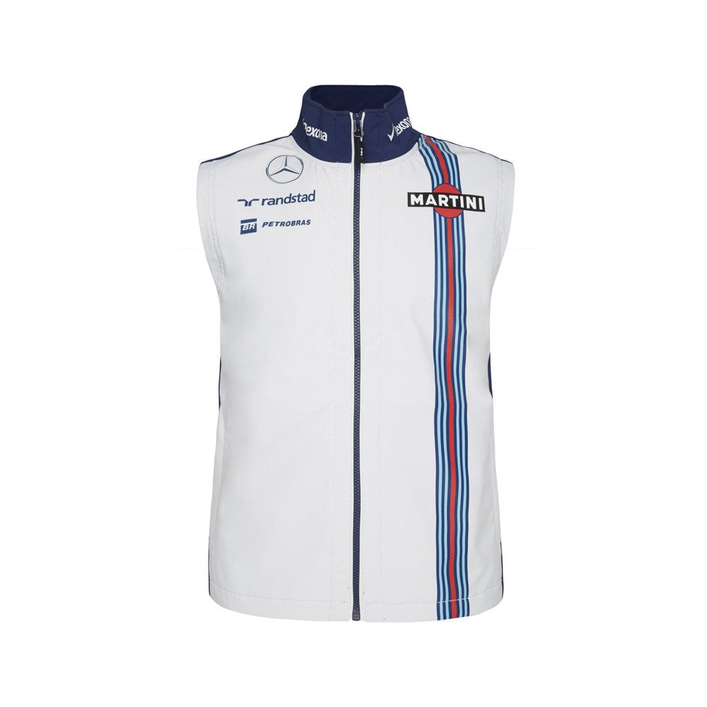 Williams Martini Racing Men's Team Vest White/Navy