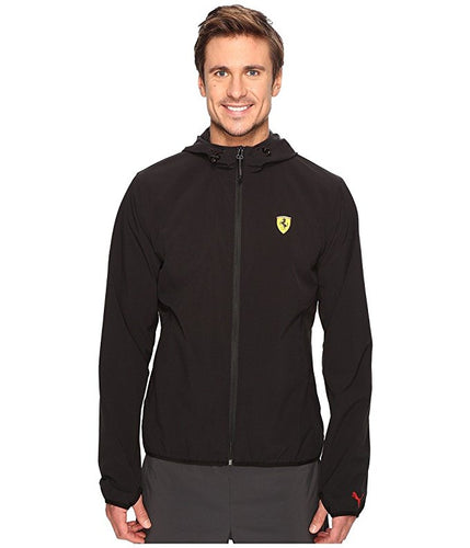 Ferrari Men's Lightweight Jacket  Black