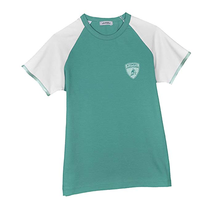 LAMBORGHINI Girls T-Shirt Aqua