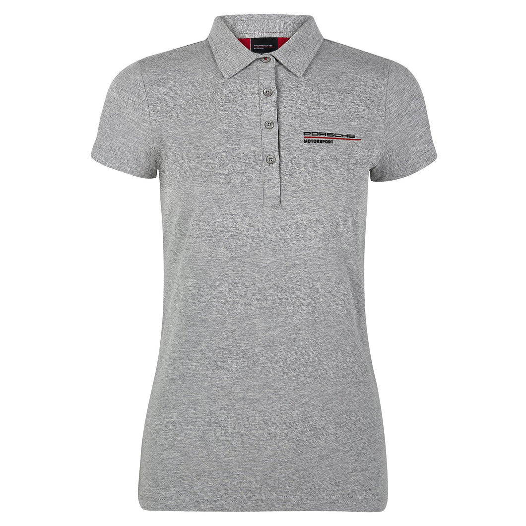 Porsche Motorsport Women's Polo Gray