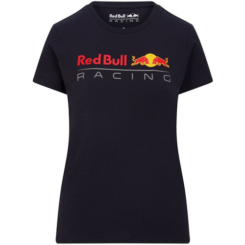 Red Bull Racing F1 Women's Large Logo T-Shirt Navy