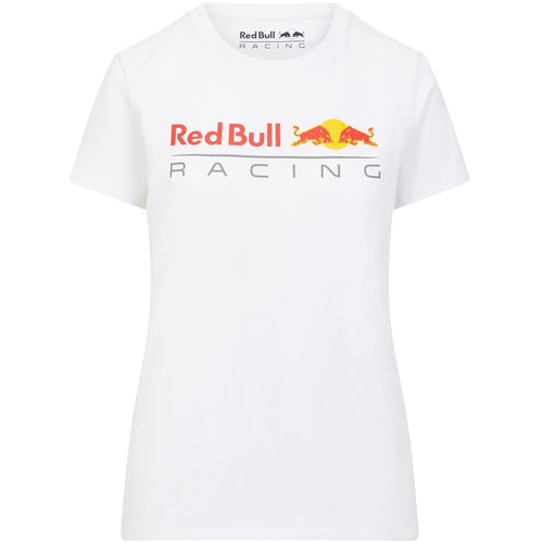 Red Bull Racing F1 Women's Large Logo T-Shirt White