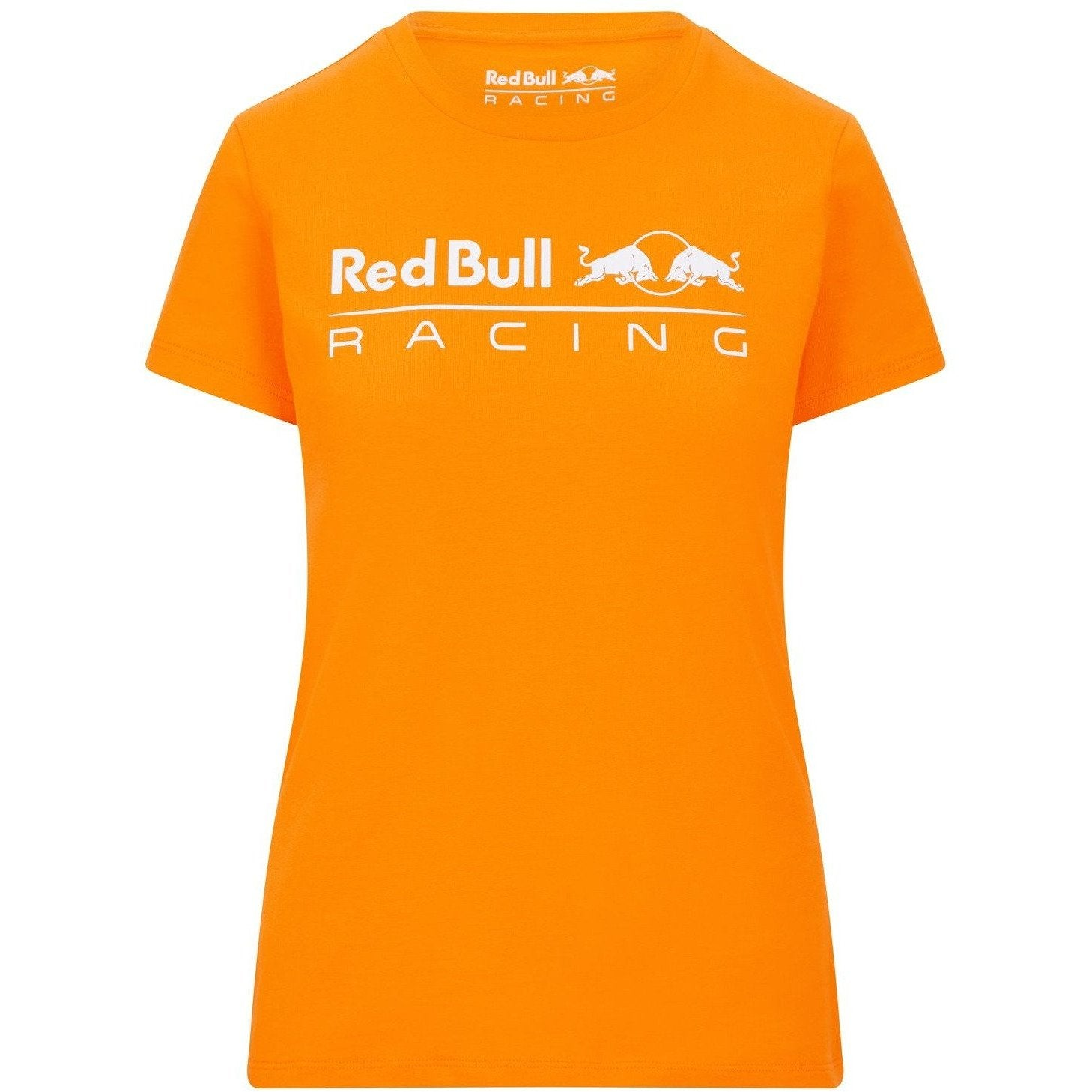 Red Bull Racing F1 Women's Large Logo T-Shirt Orange
