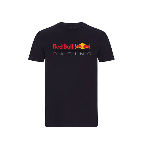 Red Bull Racing F1 Men's Large Logo T-Shirt Navy