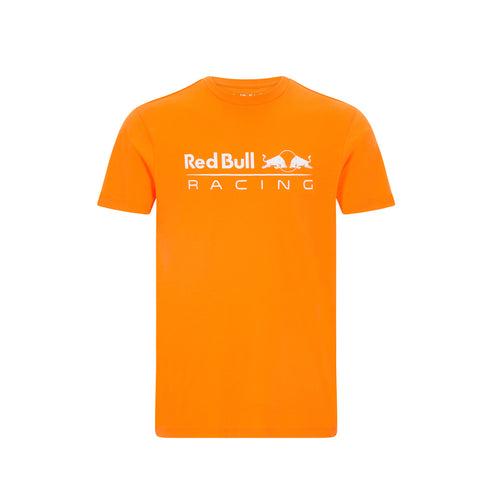 Red Bull Racing F1 Men's Large Logo T-Shirt Orange