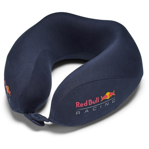 Red Bull Racing F1 Neck Travel Pillow Navy