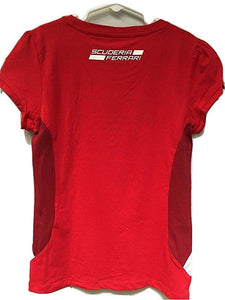 Ferrari Girl's T-Shirt Red