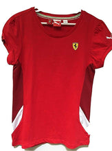 Load image into Gallery viewer, Ferrari Girl's T-Shirt Red