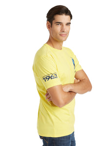 LAMBORGHINI Men's Small Bull T-Shirt Yellow