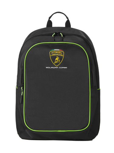 Lamborghini Squadra Corse Team Backpack Black