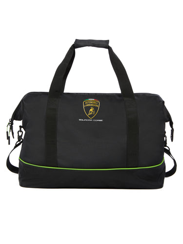 Lamborghini Squadra Corse Travel Duffel Bag Black