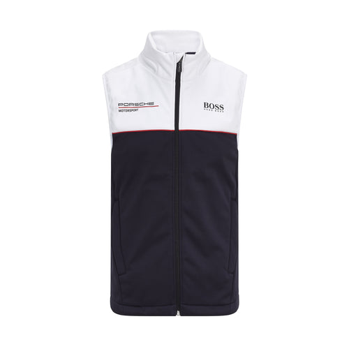 Porsche Motorsport Team Vest Black/White