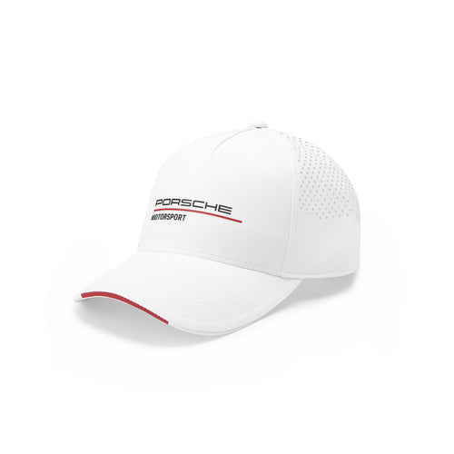 Porsche Motorsport Hat in White