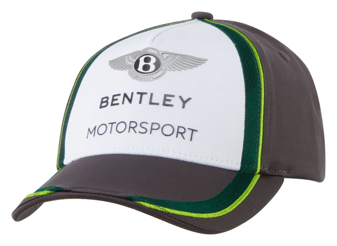 Bentley Motorsport Adult Team Cap Gray/White