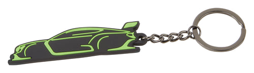Bentley Motorsport Keyring Gray/Green