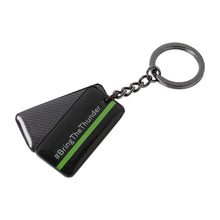 Load image into Gallery viewer, Bentley Motorsport Tag Keyring Gray/White/Green