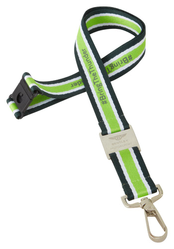Bentley Motorsport Lanyard Green/Gray