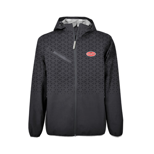 Bugatti Men's Rain Jacket Grey