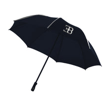 "Load image into Gallery viewer, Bugatti ""EB"" Compact Umbrella Blue"