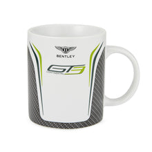 Load image into Gallery viewer, Bentley GT3 Porcelain Mug Carbon Gray/White