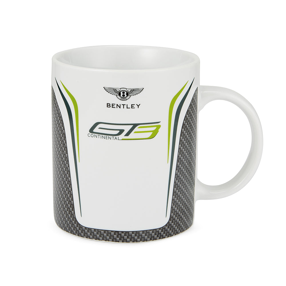 Bentley GT3 Porcelain Mug Carbon Gray/White