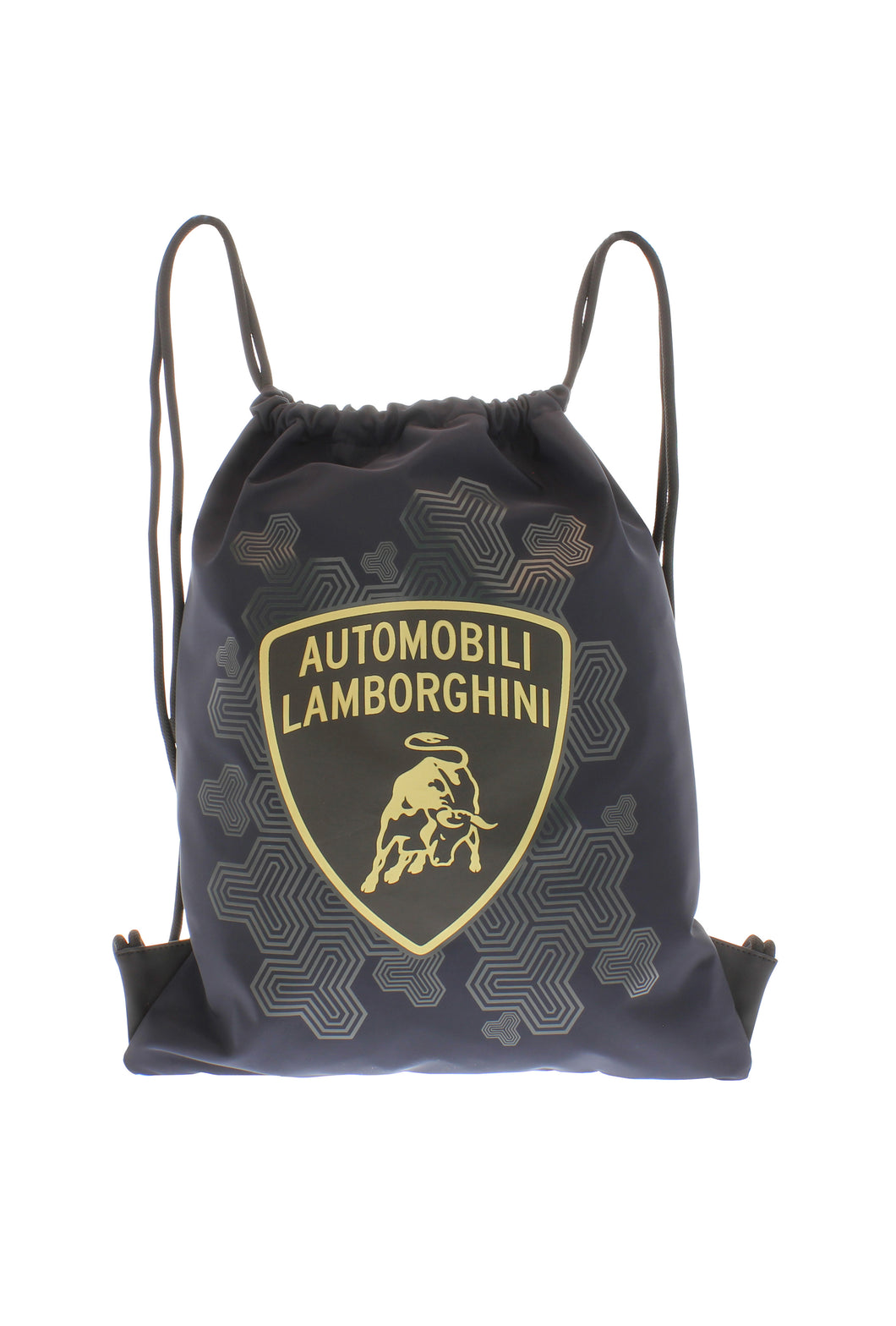 Lamborghini Drawstring Bag Black