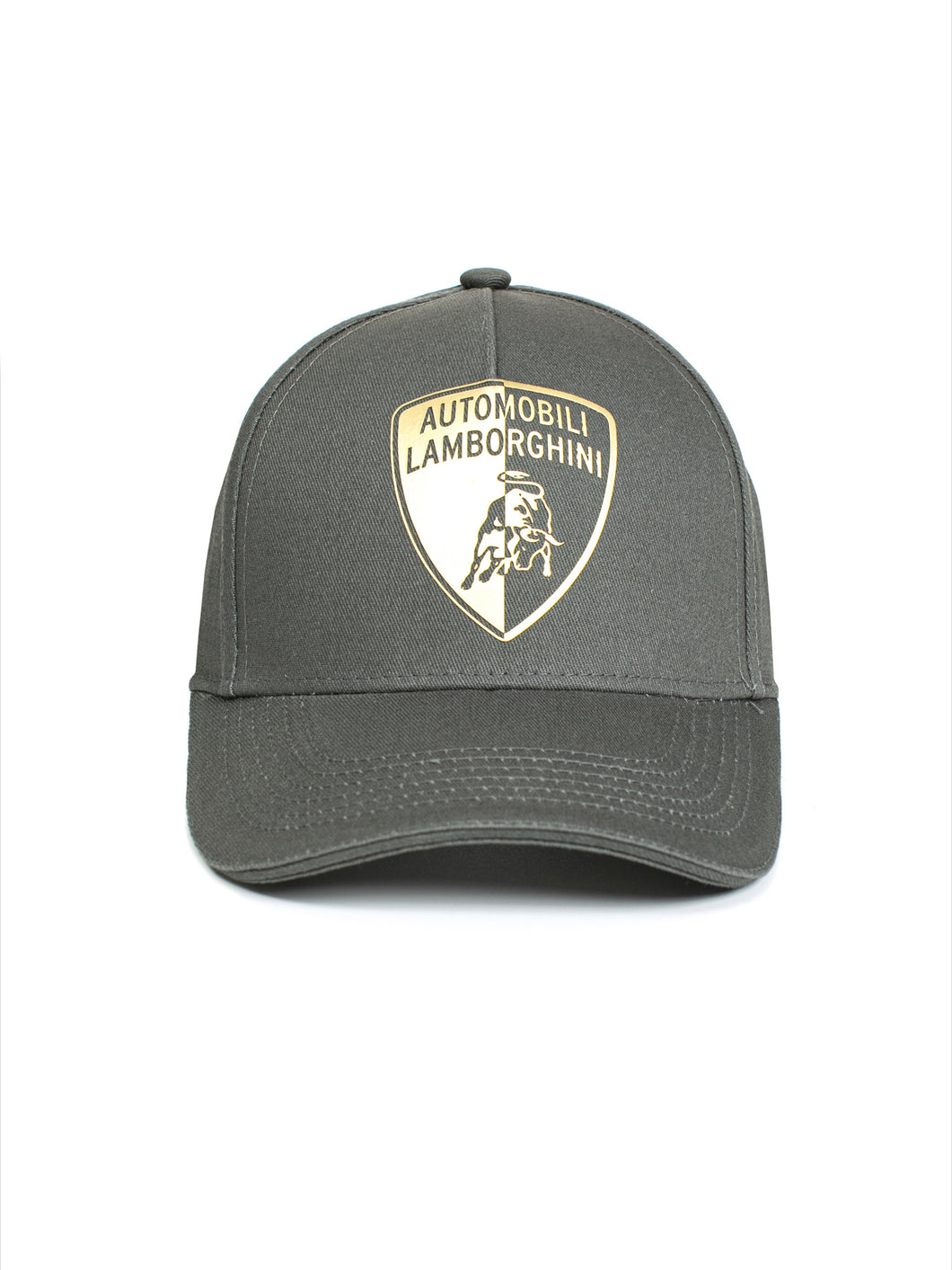 Lamborghini Halved Shield Cap Gray